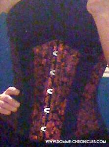 Ferns corset