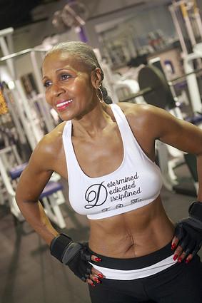 Older fit woman