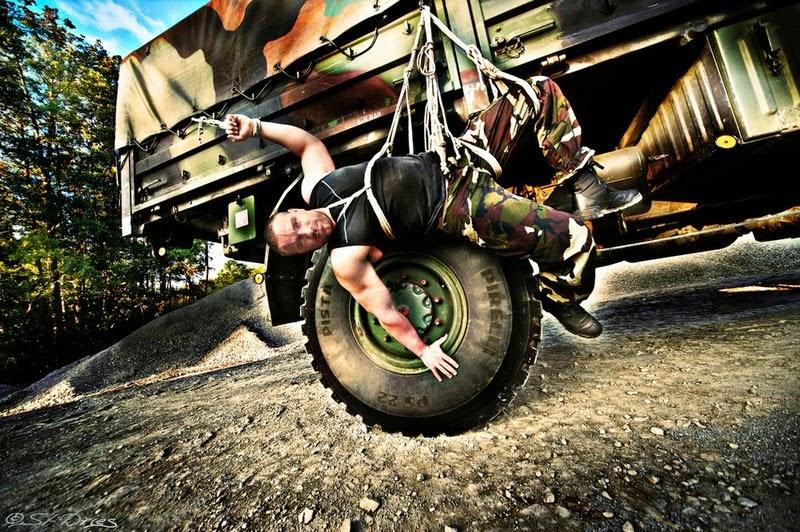 Work Load Limit. Model: Marco A. Photographer: Stefan Dries. Ropework: Reraizure