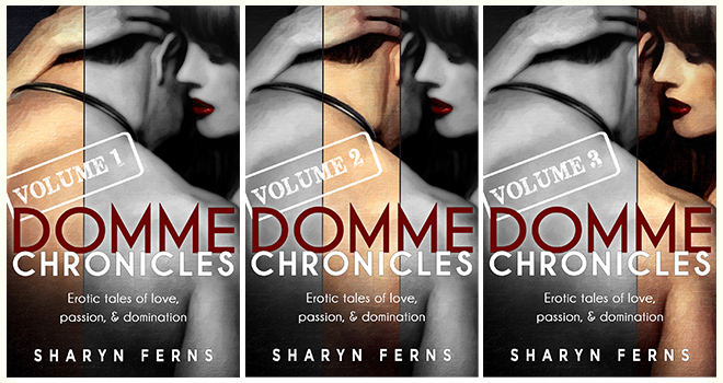 Domme Chronicles, Volumes 1, 2 & 3 covers