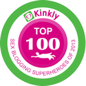Kinkly Top 100 Sex Blogger 2013