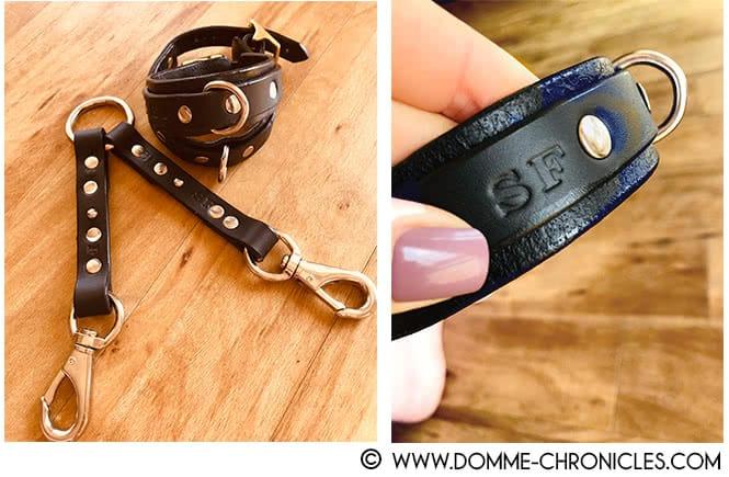 Gift: ankle cuffs & strap